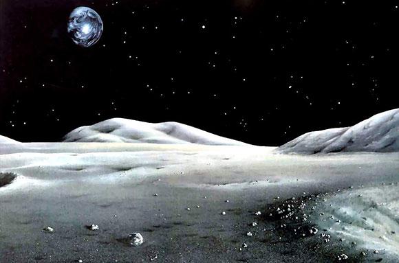 В Роскосмосе предложили создавать лунные краны