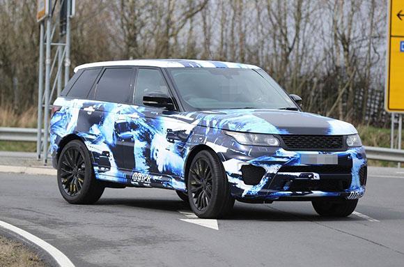 Range Rover Sport SVR рассекречен