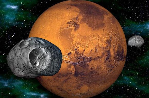 Астероиды будут использовать как промежуточные станции к Марсу